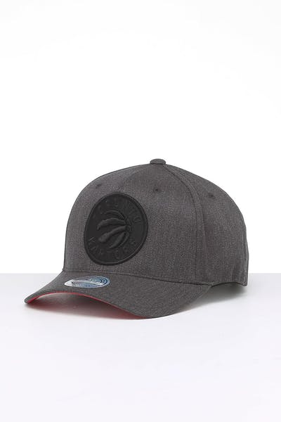Mitchell & Ness Toronto Raptors Wool B/B 110 Snapback Dark Heather Grey