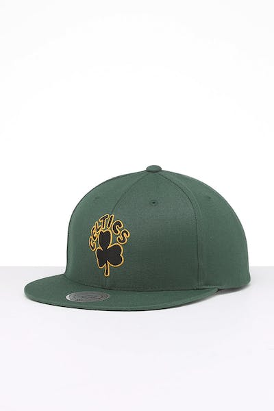 Mitchell & Ness Boston Celtics Retro Crown Throwback Snapback Green