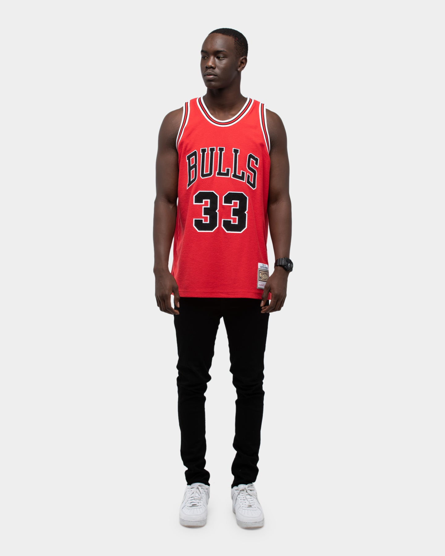 Details about Shoes Adidas Chicago Bulls Black Red Original NBA