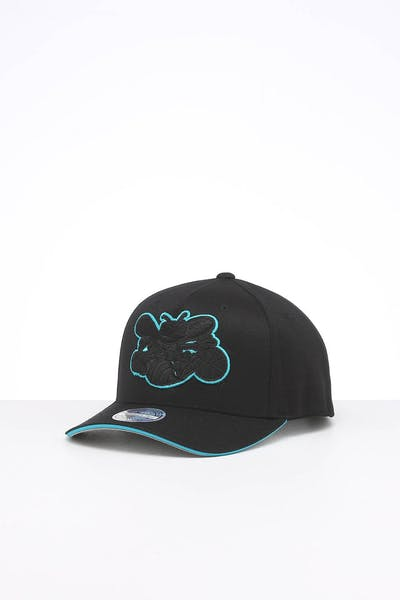 Mitchell & Ness Charlotte Hornets Team POP Snapback Black