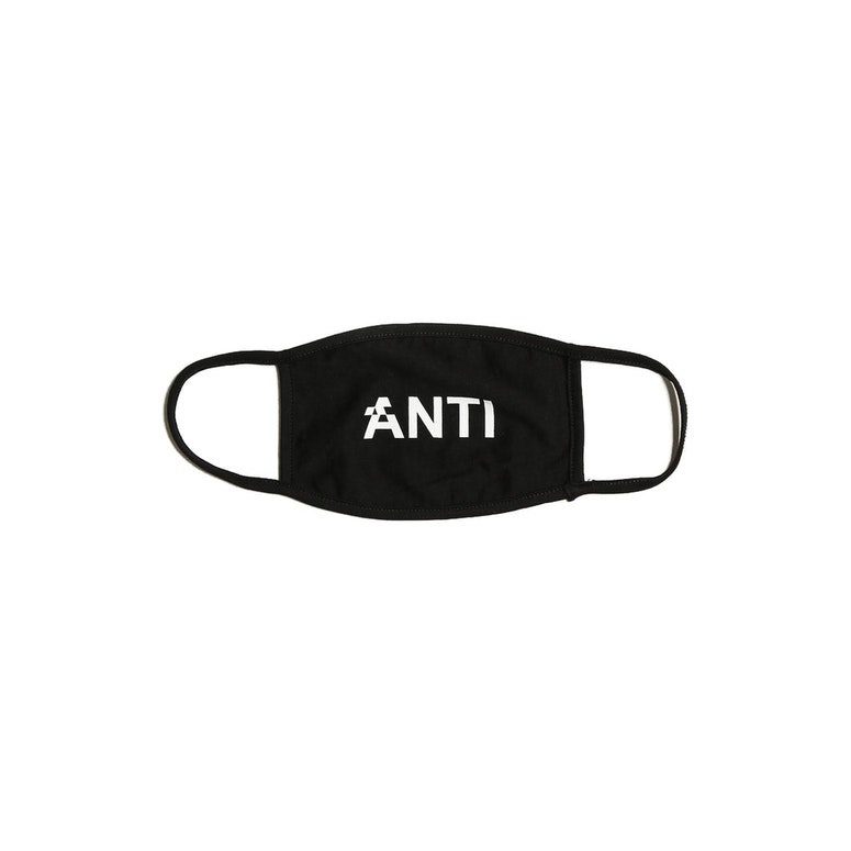 The Anti-Order Surgical Mask Black
