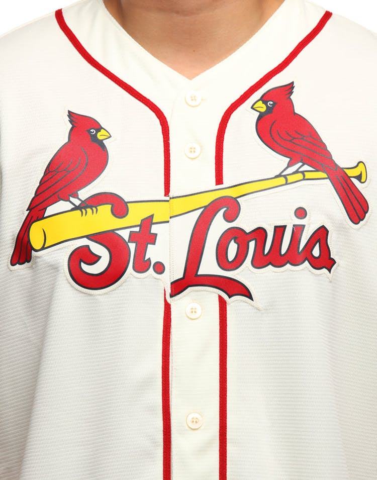 eeecc64c Majestic Athletic St. Louis Cardinals Cool Base Jersey Ivory