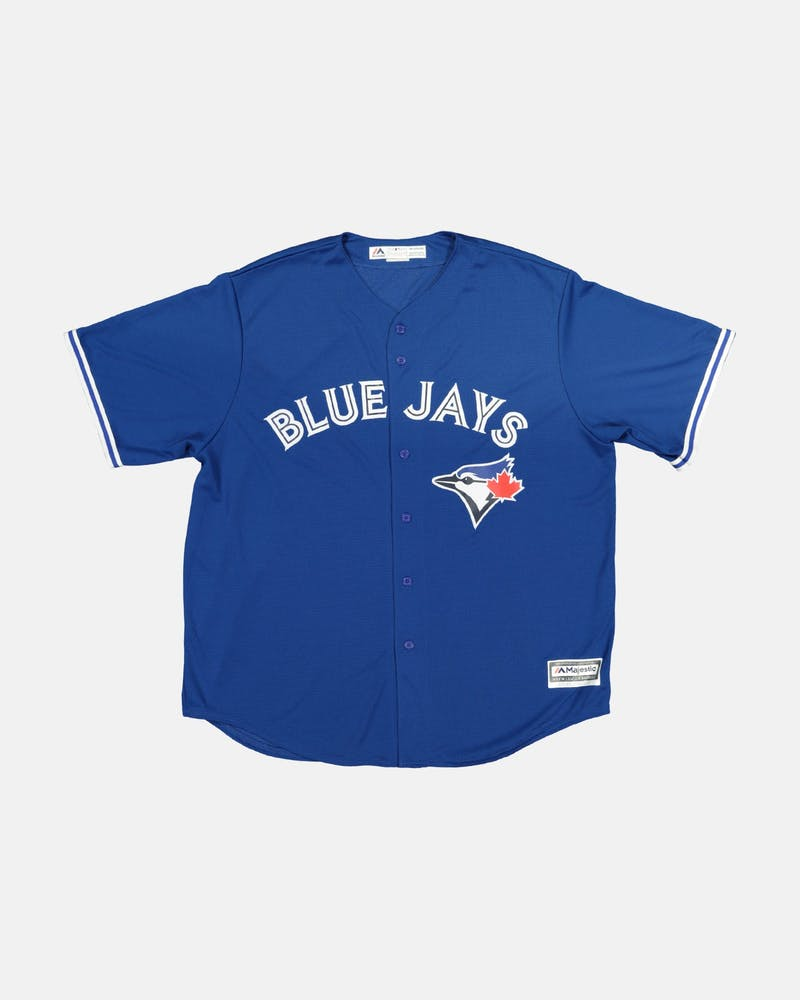 MAJESTIC ATHLETIC BLUE JAYS ALT COOL-BASE BASEBALL JERSEY ROYAL