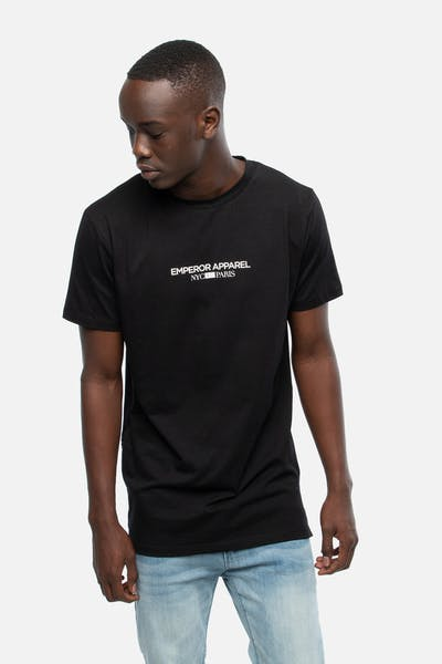 Emperor Apparel Minimal T-Shirt Black