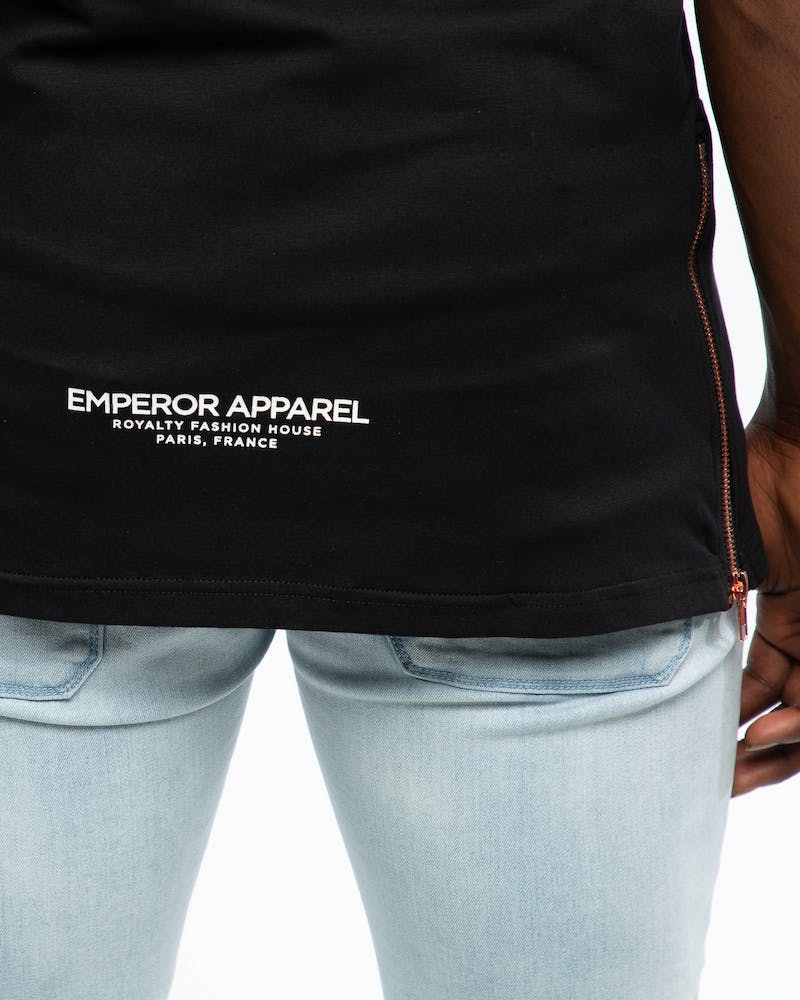 Emperor Apparel LA Palm T-Shirt Black