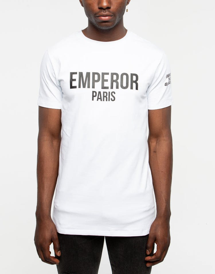 Emperor Apparel Bari T-Shirt White/Black