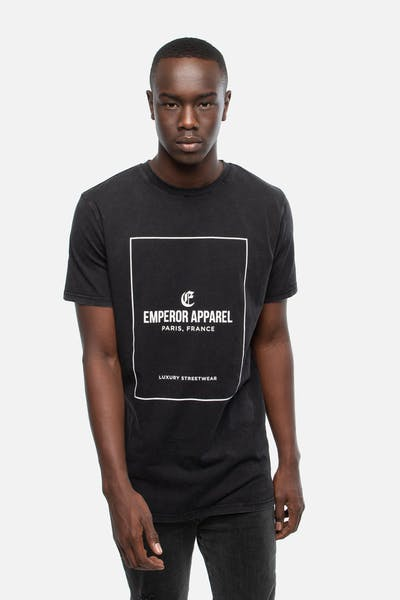 Emperor Apparel London T-Shirt Acidwash