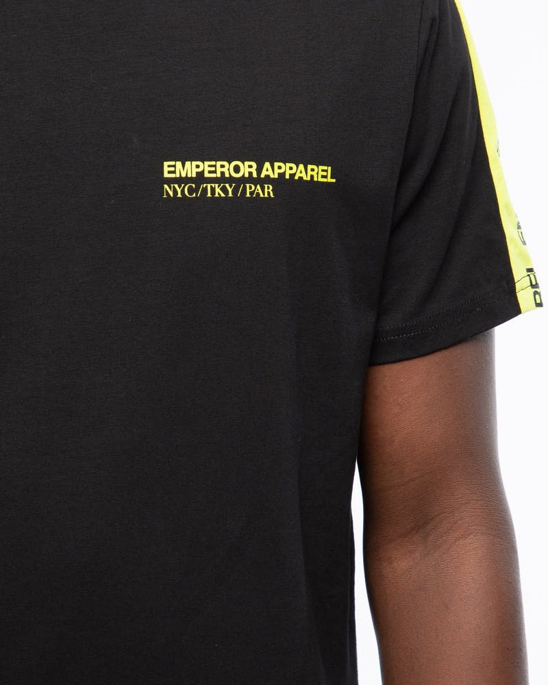 Emperor Apparel Retro T-Shirt Black