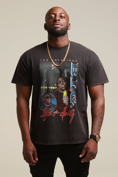 67bf6aea NOTORIOUS B.I.G THE NOTORIOUS VINTAGE Black