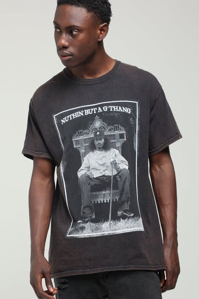 Snoop Dogg G Thang Vintage Tee Black