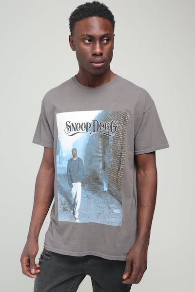 Snoop Dogg Snoop Vintage Tee Charcoal
