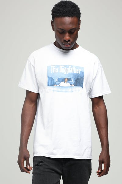 Snoop Dogg Doggfather Vintage Tee White