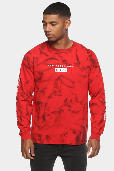 NOTORIOUS B.I.G THE NOTIOUS B.I.G LS TEE RED