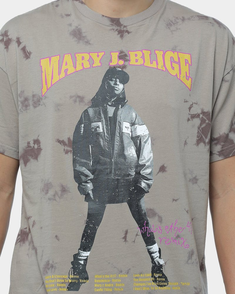 Mary J. Blige Ghetto Vintage Short Sleeve T-Shirt