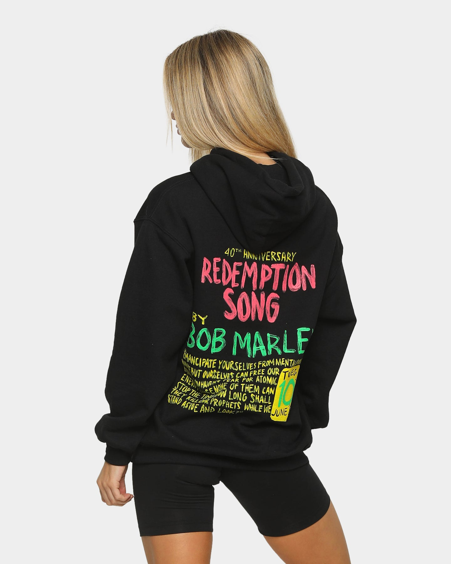 Bob Marley Mens Jacket Black