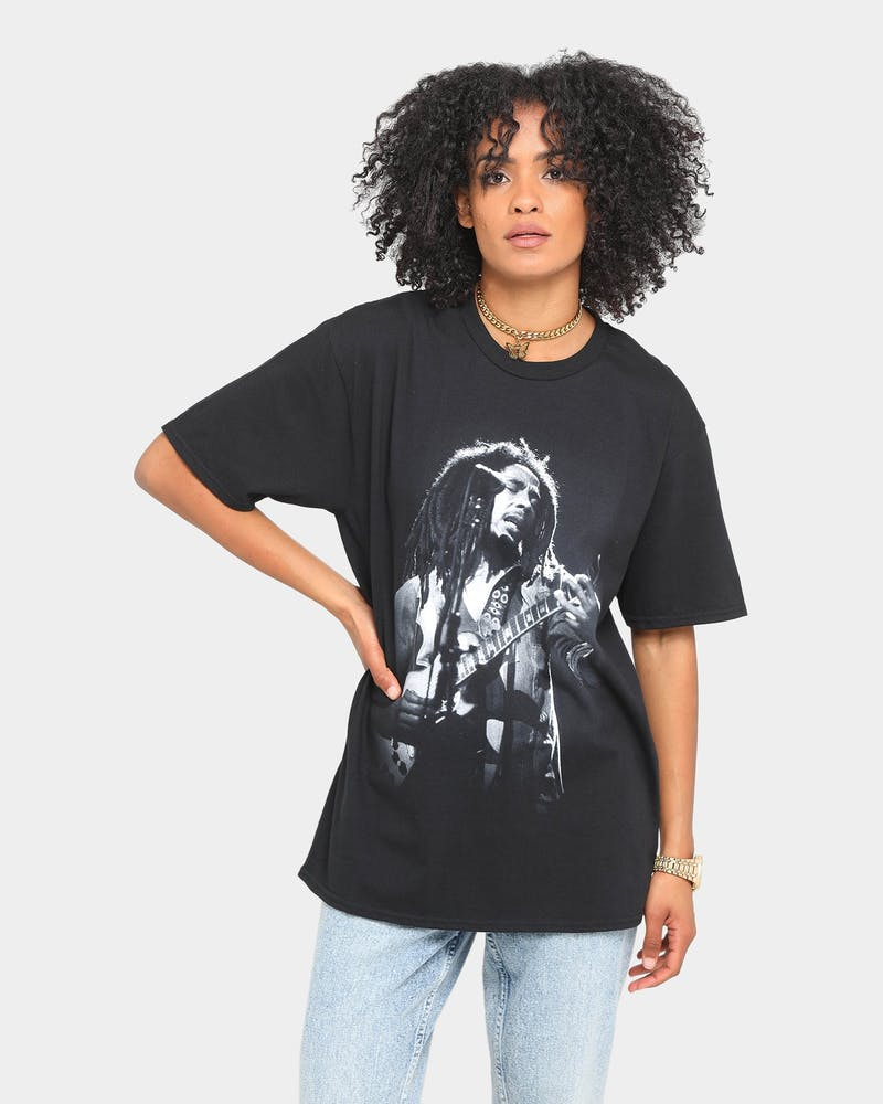 Bob Marley Rise Short Sleeve T-Shirt Black