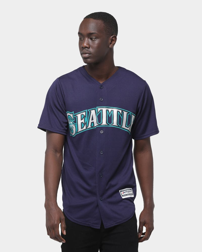 Majestic Athletic Seattle Mariners Cool Base Jersey Navy