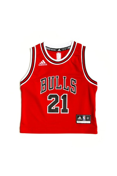 Adidas Chicago Bulls Road Toddler Jersey Jimmy Butler #21 Red