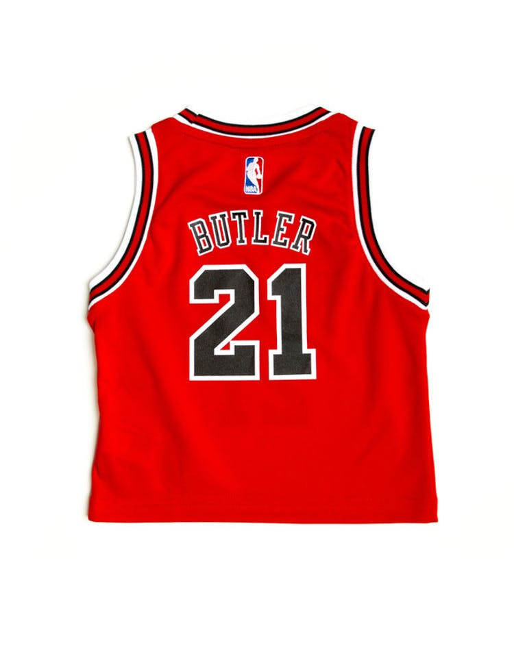 info for f2a07 6919e Adidas Chicago Bulls Road Toddler Jersey Jimmy Butler #21 Red