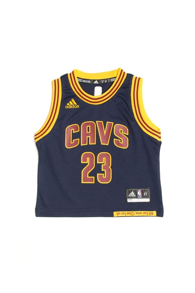 Adidas Cleveland Cavaliers Road Alternate Toddler Jersey LeBron James #23 Navy