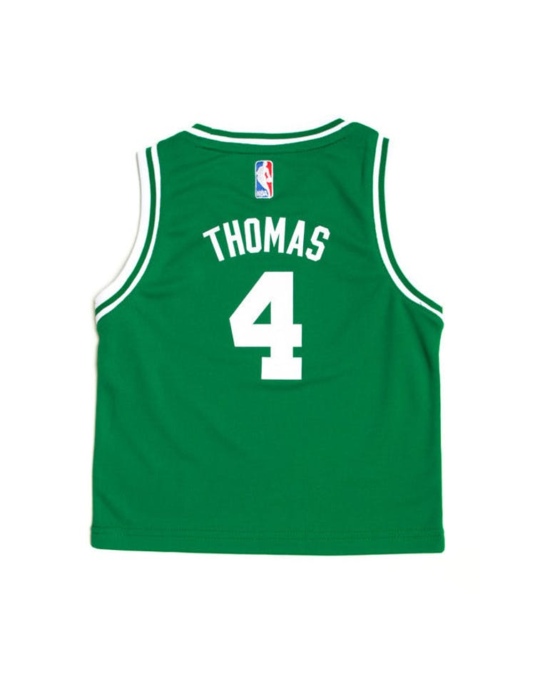 newest collection d5fa3 3976a Adidas Boston Celtics Road Toddler Jersey Isaiah Thomas 4 Kelly Green
