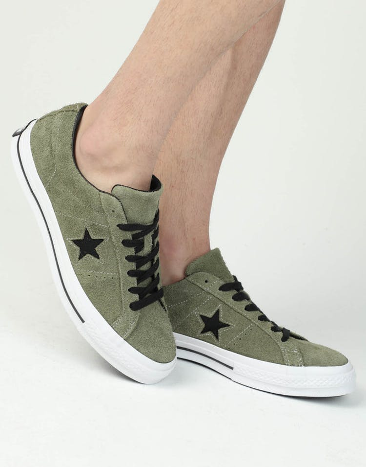 33116f7b8dcf Converse One Star (Dark Star) Olive White – Culture Kings