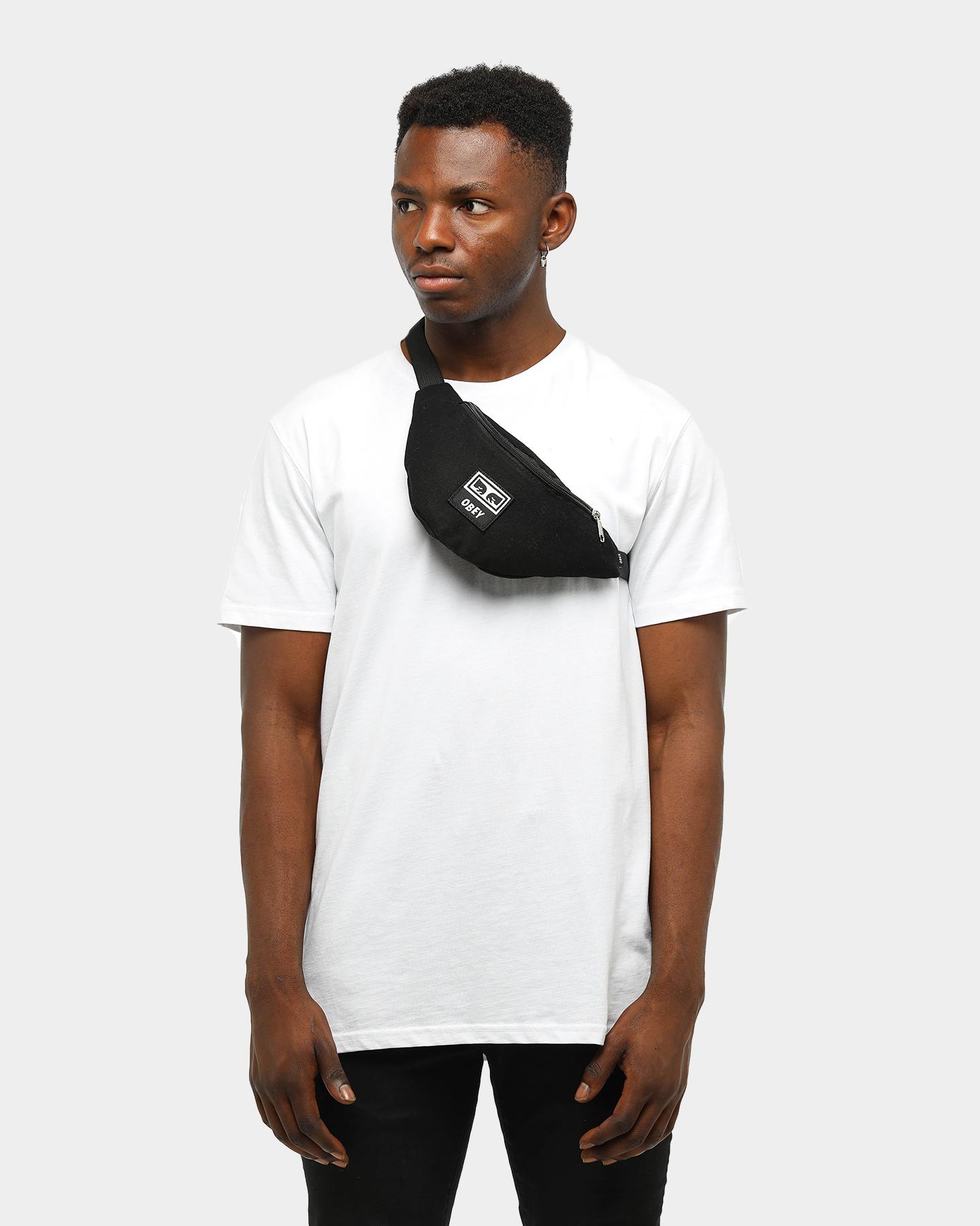 TU Wasted hip bag Black twill Obey