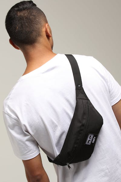 OBEY Daily Sling Pack Black