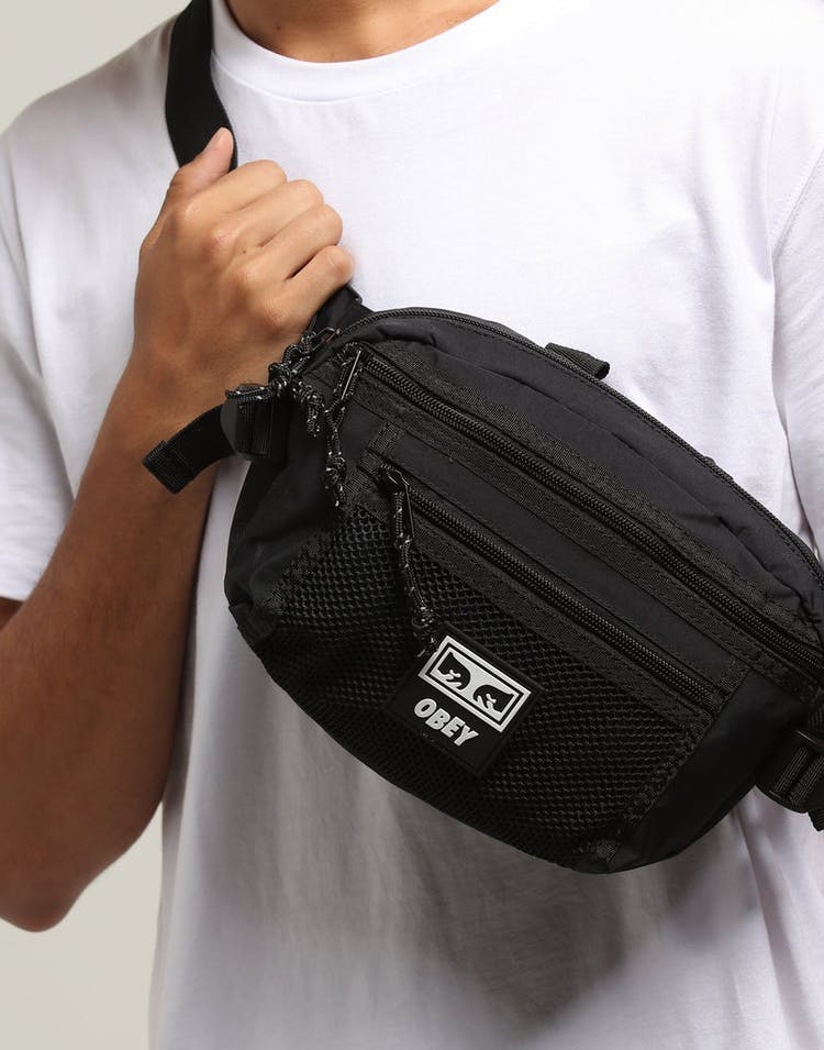 727591a2cdd OBEY Conditions Waist Bag Black – Culture Kings