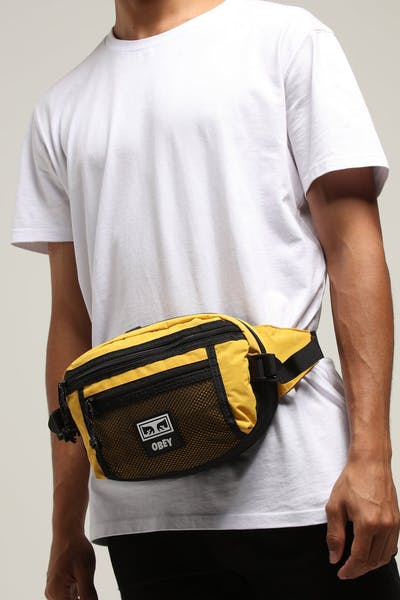OBEY Conditions Waist Bag Yellow