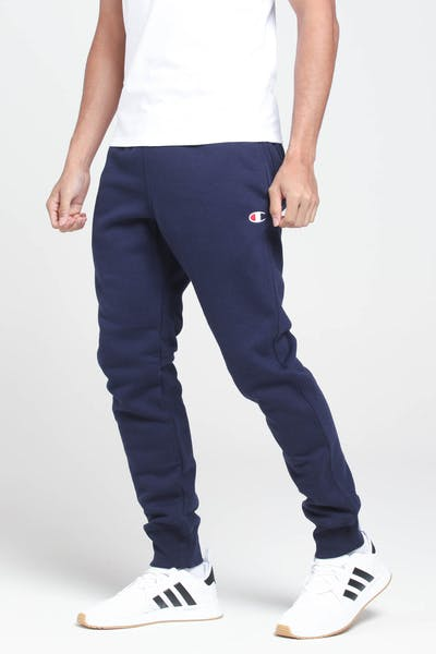 Champion Rev Weave Trim Jogger Navy