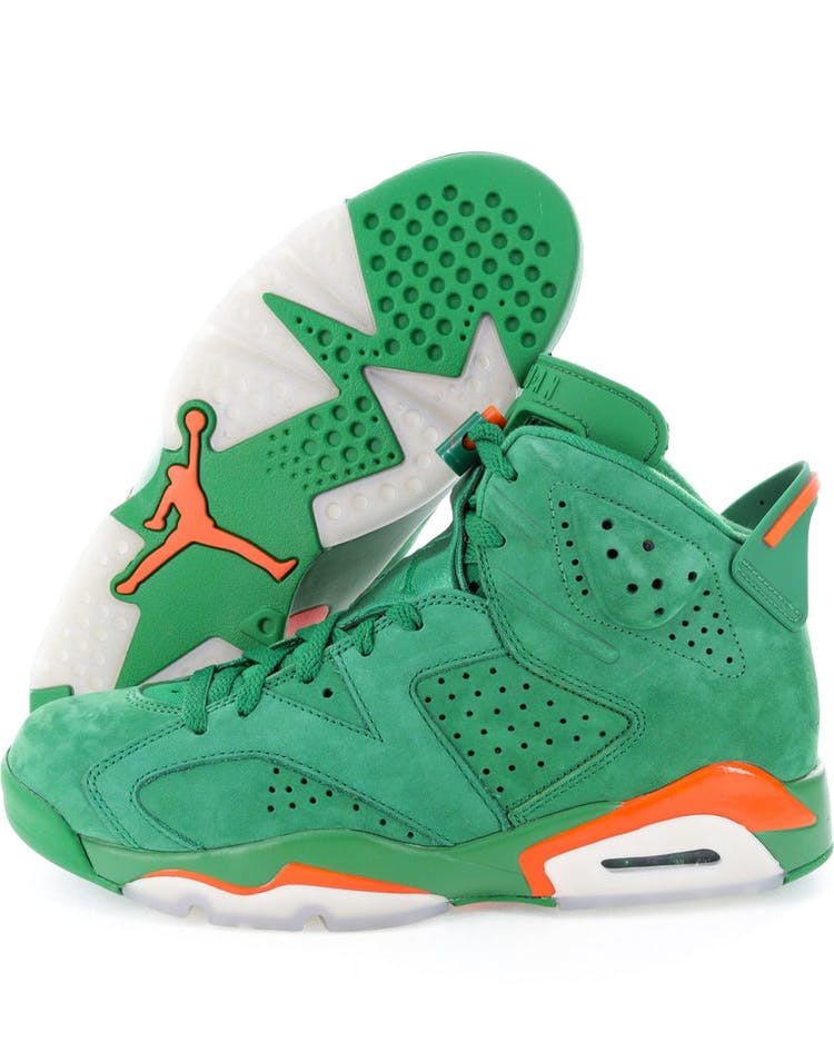 "2131370a284d98 Air Jordan 6 Retro NRG G8RD ""Gatorade Green"""