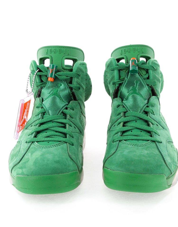 "cb4aff286db7 Air Jordan 6 Retro NRG G8RD ""Gatorade Green"""