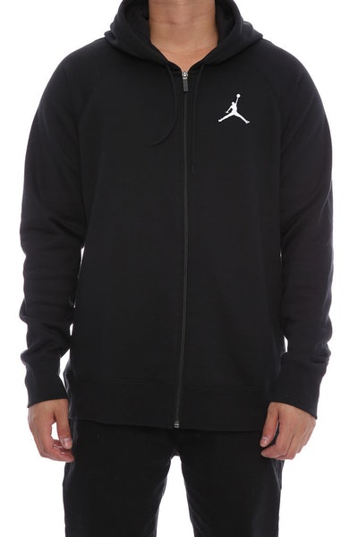 Jordan Flight Hoodie Black/white