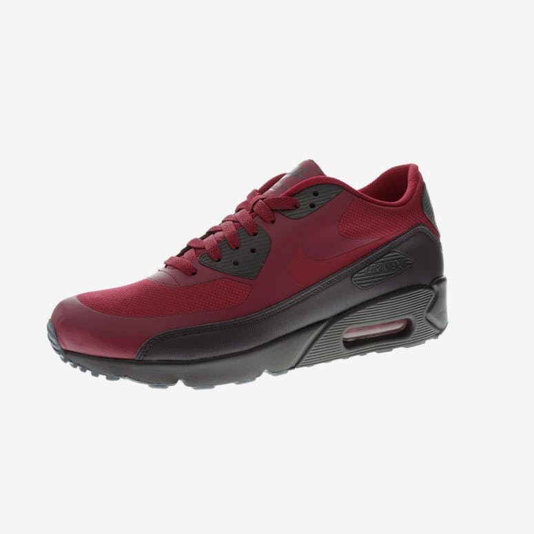 Nike Air Max 90 Ultra 2.0 Essential Burgundy Black – Culture Kings d242d5137