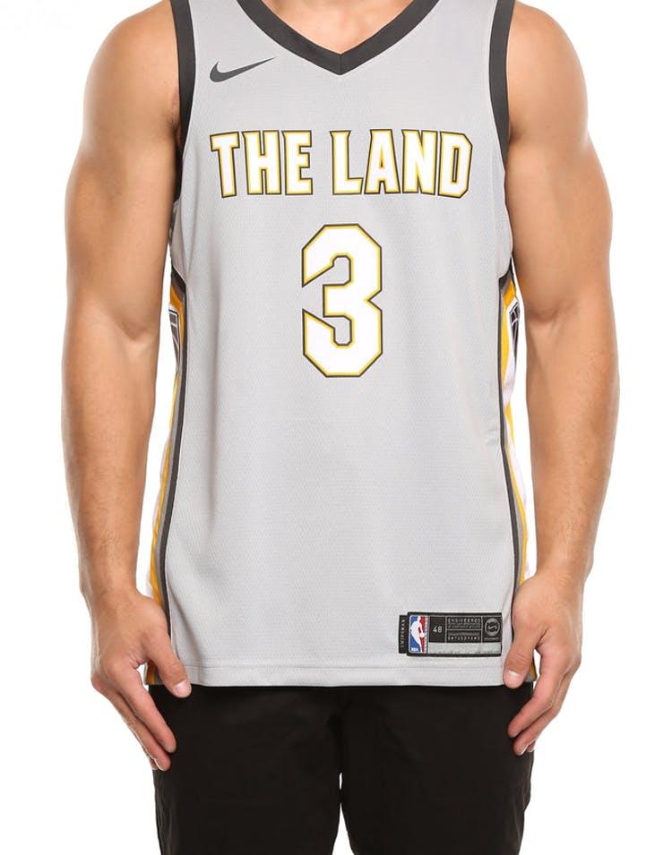 9e3def72ab7 Nike Cleveland Cavaliers  3 Isaiah Thomas City Edition Swingman Jersey –  Culture Kings