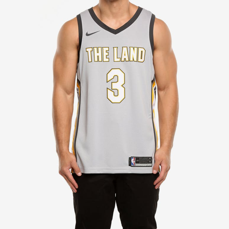 65a7cbae5 Nike Cleveland Cavaliers  3 Isaiah Thomas City Edition Swingman Jersey –  Culture Kings