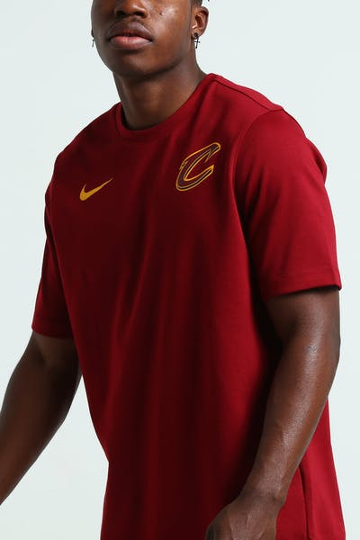 Nike Cleveland Cavaliers DNA Essential SS Top Red/Gold