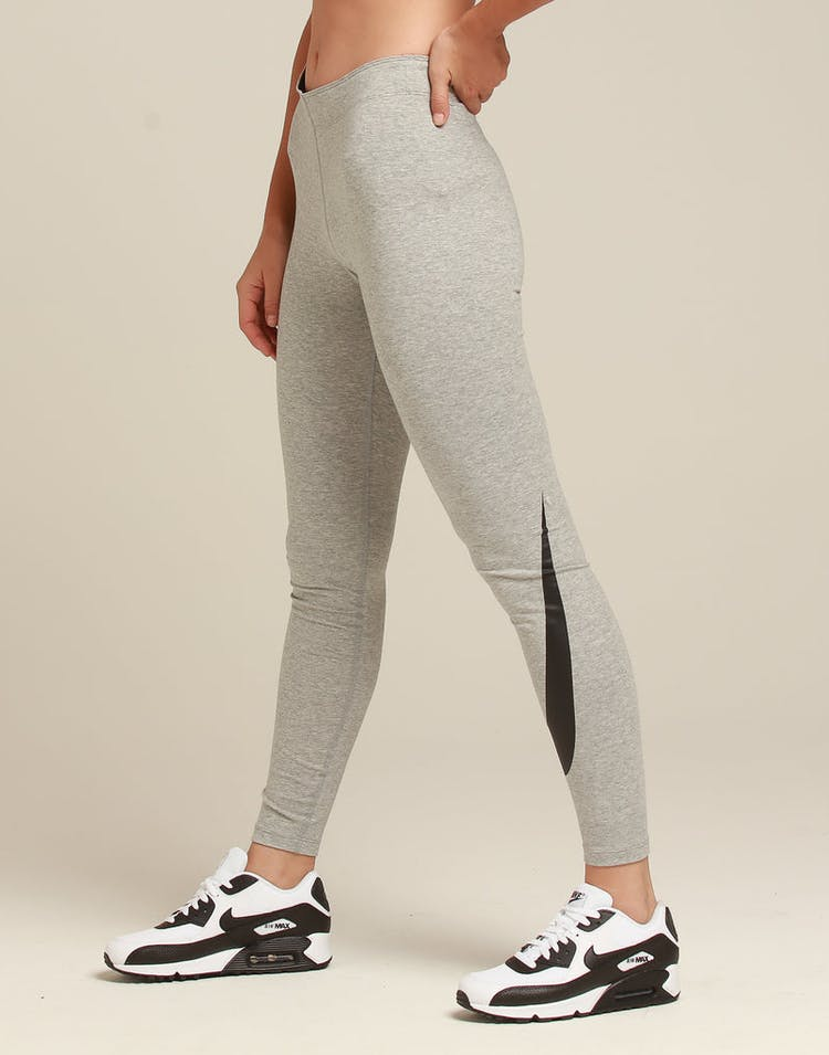 71174e8f Nike Women's Nike Sportswear Leg-A-See Heather Grey/Black