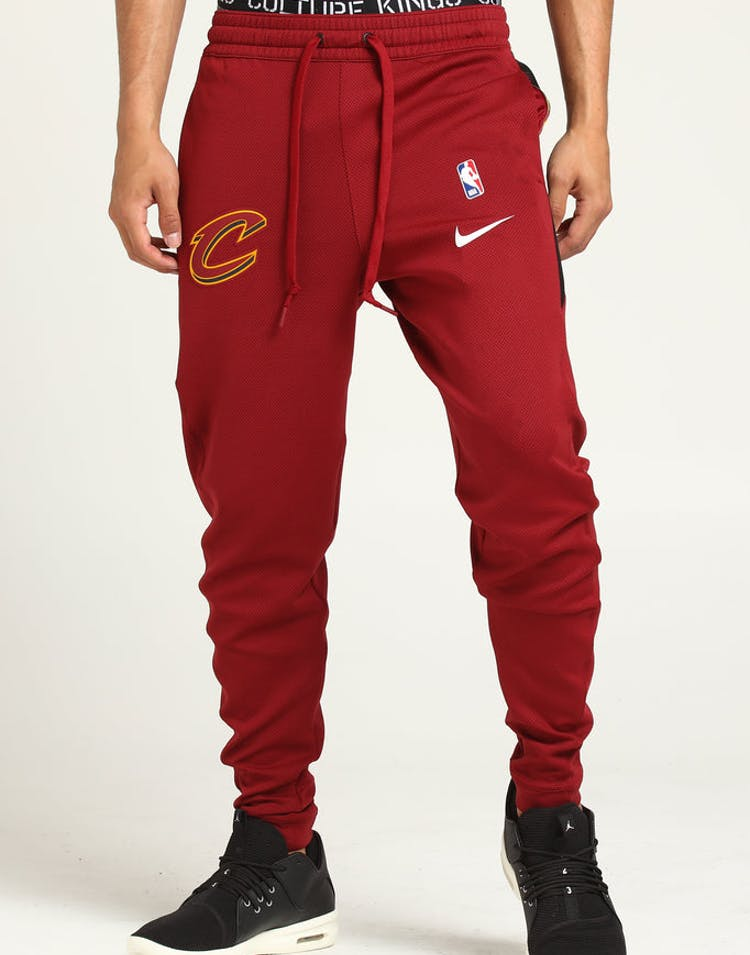 e933a9ce7 Nike Cleveland Cavaliers Therma Flex Pant Burgundy/White – Culture Kings
