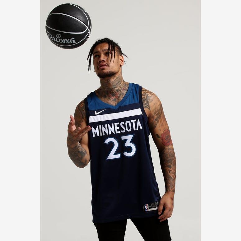cf0c0342b Jimmy Butler  23 Minnesota Timberwolves Nike Icon Edition Swingman Jer –  Culture Kings