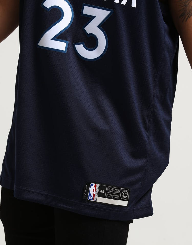 a121c327df6 Jimmy Butler  23 Minnesota Timberwolves Nike Icon Edition Swingman Jersey  Navy