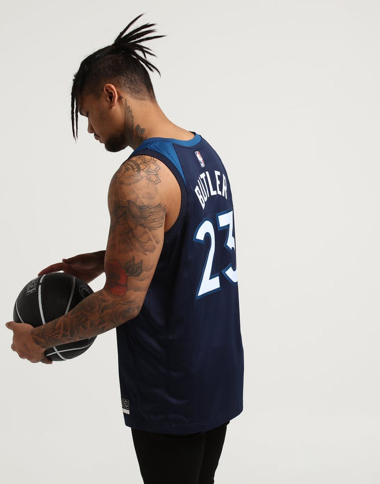 first rate 1acd0 ec9dd Jimmy Butler #23 Minnesota Timberwolves Nike Icon Edition Swingman Jersey  Navy