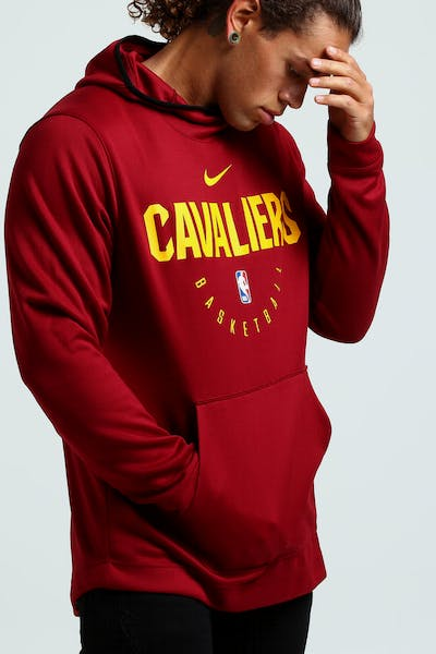 Nike Cleveland Cavaliers Spotlight Hoodie Pull Over Red/Gold/Black
