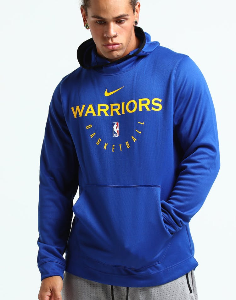 03c4a991e3c0 Nike Golden State Warriors Spotlight Hoodie Pull Over Blue Yellow Blac –  Culture Kings
