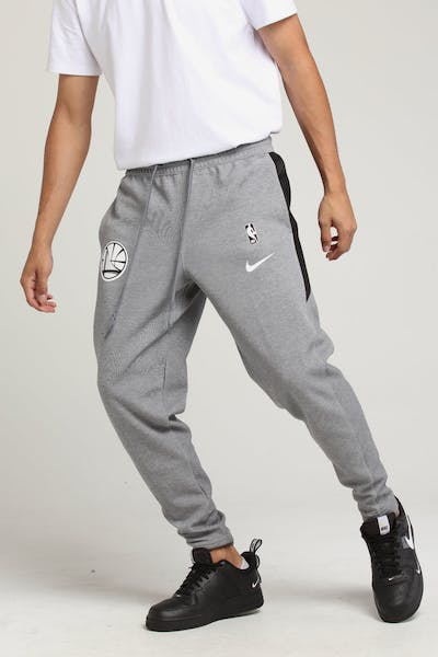 Nike Golden State Warriors Dry Showtime Pant Grey Heather/White