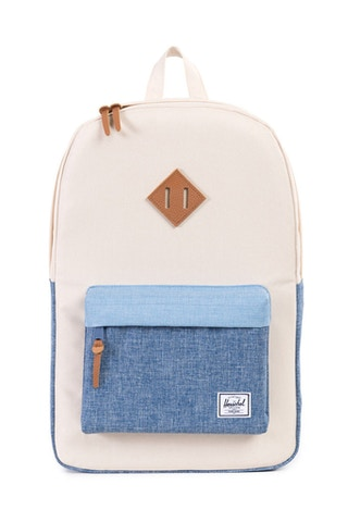 Heritage Leather Backpack Natural/chambra