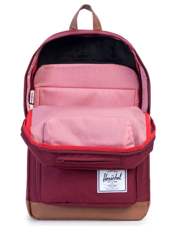 Pop Quiz Backpack Wine/tan