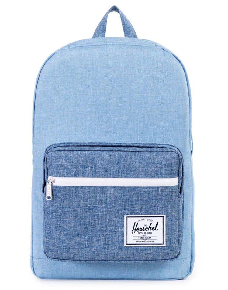 421aeb5a8eb Herschel Bag CO Pop Quiz Crosshatch Light Blue blue – Culture Kings