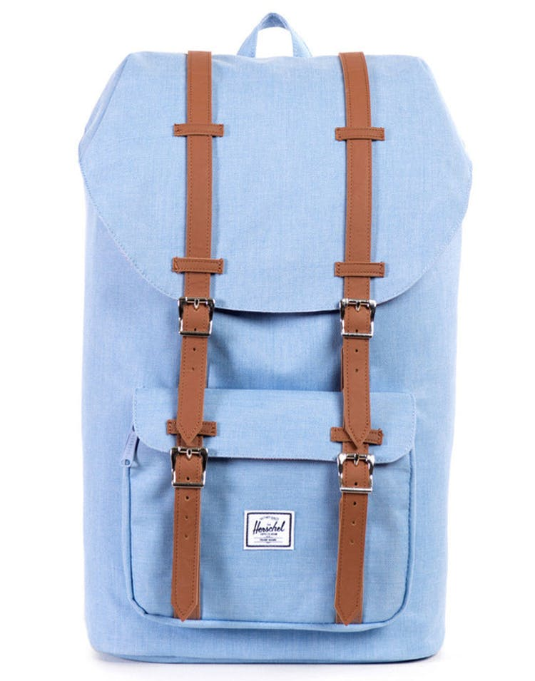 Little America Leather Chambray